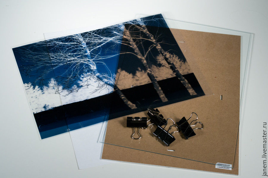Cyanotype: Printing Photos on Watercolor Paper, фото № 7