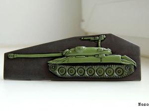 Процесс лепки танка ИС-7 | Ярмарка Мастеров - ручная работа, handmade