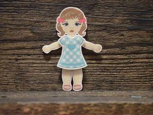 Новая куколка с домиком. Ярмарка Мастеров - ручная работа, handmade.