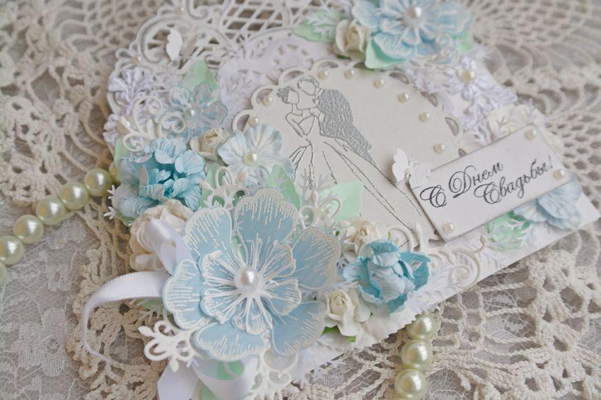 Свадебная открытка конверт, фото № 2