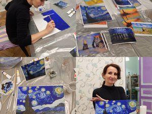 Живопись маслом по мотивам импрессионистов | Ярмарка Мастеров - ручная работа, handmade