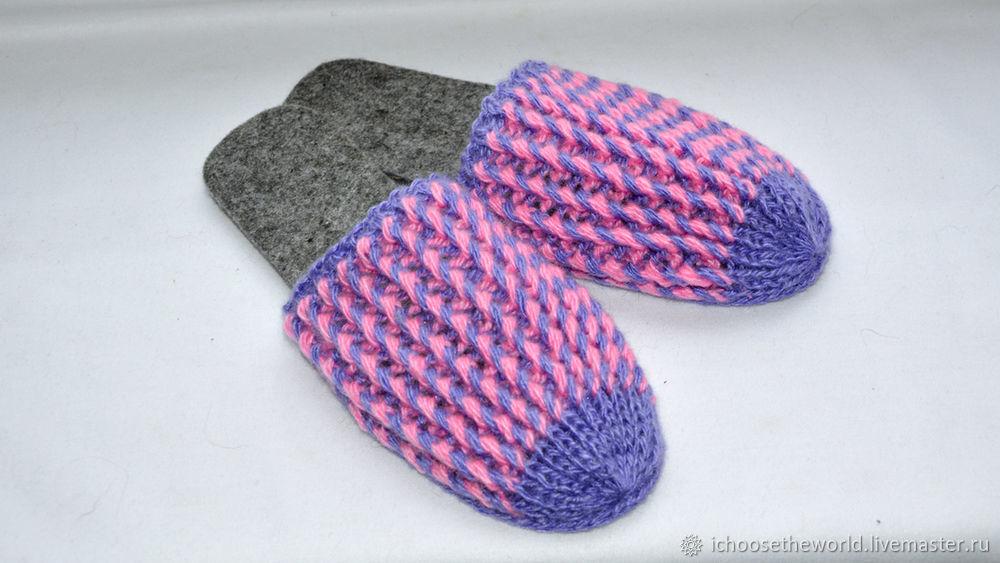 Как сделать подошву для носков 947