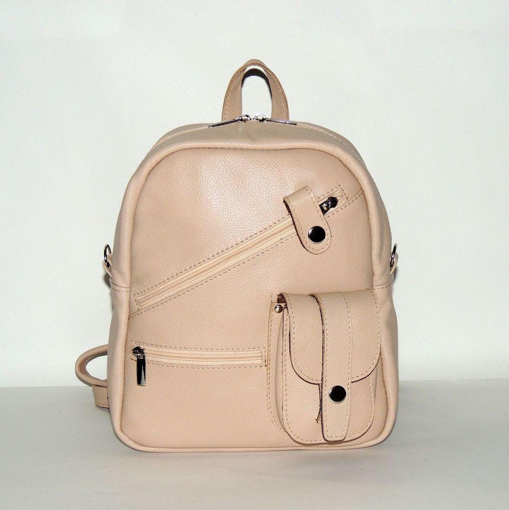 рюкзак из кожи, городской рюкзак