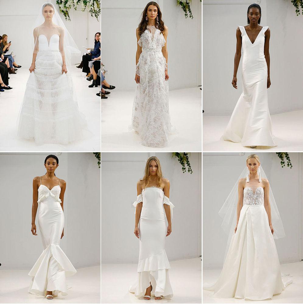 Неделя свадебной моды в Нью-Йорке: 100 лучших подвенечных платьев, фото № 1