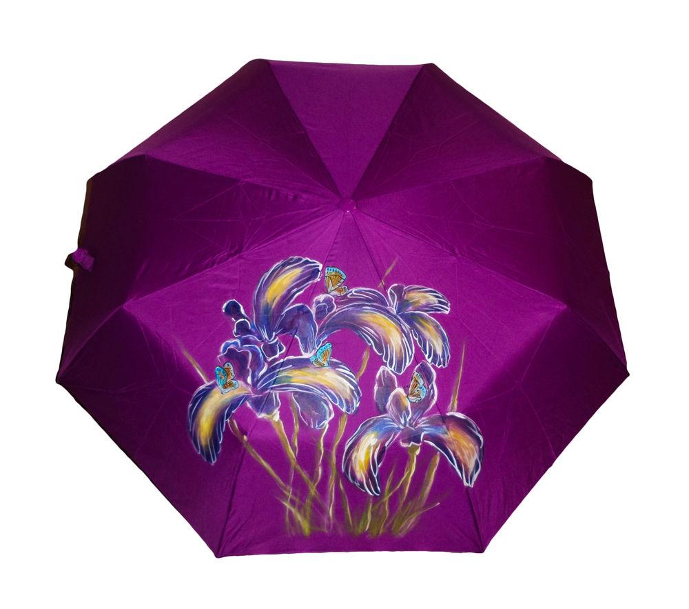 подарок, зонт с рисунком, купить зонт, зонт с цветами, дизайнерский зонт, подарок женщине