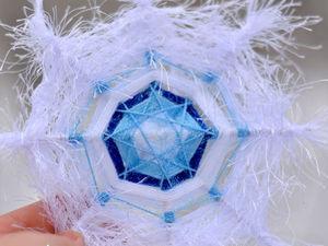 Красивые строки о снежинках. Ярмарка Мастеров - ручная работа, handmade.