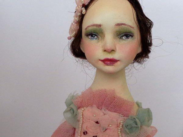 Новогодняя кукла- подвес   Ярмарка Мастеров - ручная работа, handmade