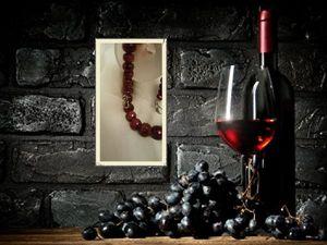 Рубиновое вино. Ярмарка Мастеров - ручная работа, handmade.