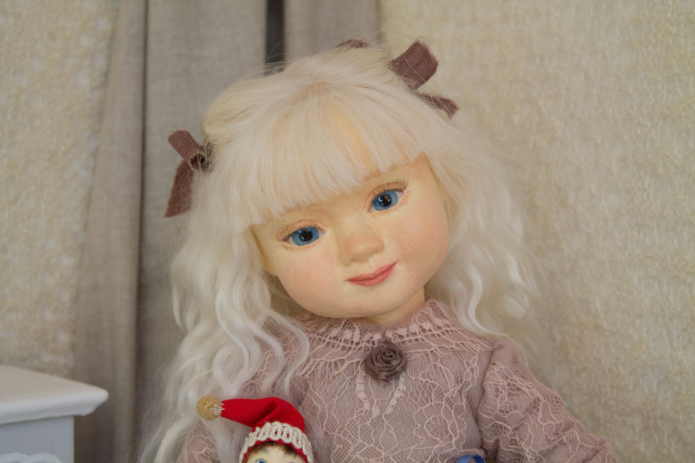 авторская кукла, пертушка