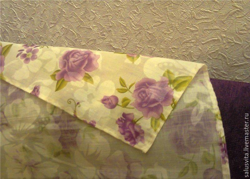 漂亮盖巾的花边 - maomao - 我随心动