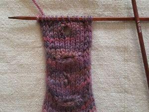 Вертикальные и горизонтальные петли для пуговиц спицами. Ярмарка Мастеров - ручная работа, handmade.