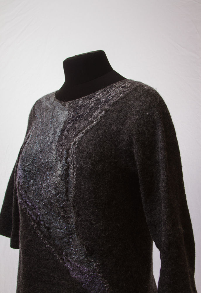 валяный свитер