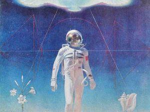 Космическая тема в работах советских художников. Ярмарка Мастеров - ручная работа, handmade.