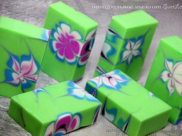 Красивое натуральное мыло к Женскому дню | Ярмарка Мастеров - ручная работа, handmade