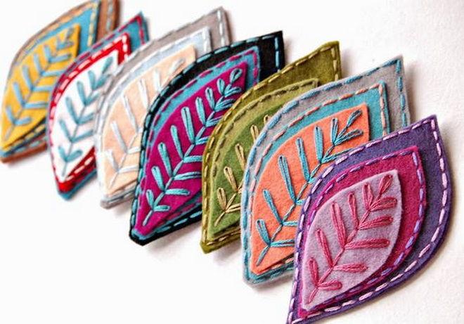 Разнообразие брошей из фетра... Сиамская киса — это нечто!