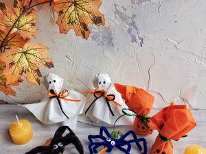 Видеоурок: украшаем с детьми конфеты на Хэллоуин. Ярмарка Мастеров - ручная работа, handmade.