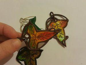 Создаем основу для брошки Лориэна «Эльфийский лист» в осеннем стиле. Ярмарка Мастеров - ручная работа, handmade.
