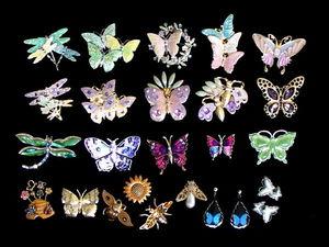 Винтажная коллекция прекрасных бабочек, стрекозок и пчелок в магазине «ПятачОК». Ярмарка Мастеров - ручная работа, handmade.