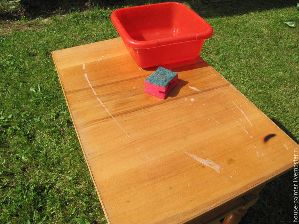 перекраска столика