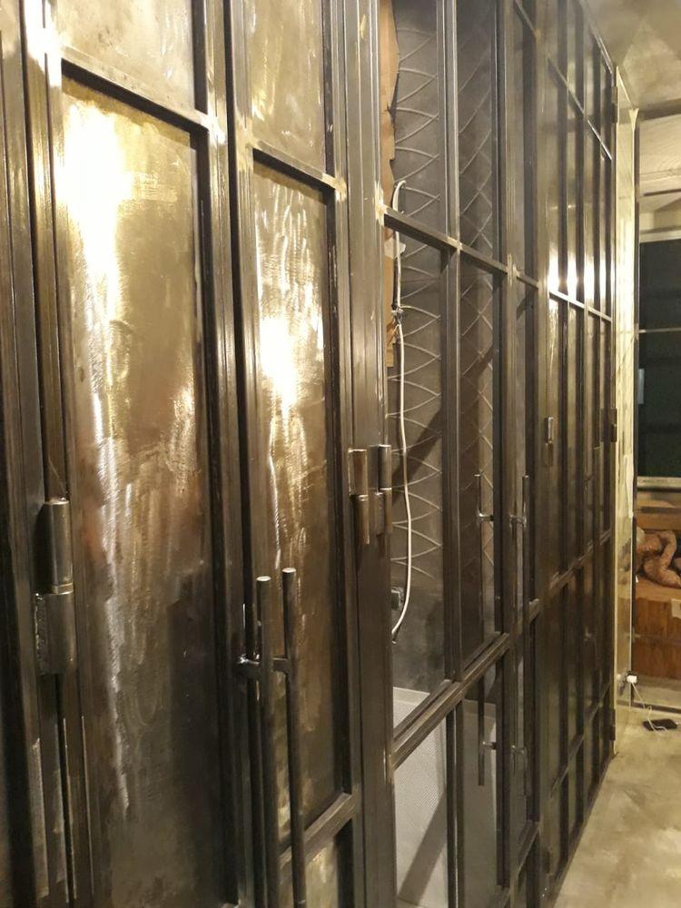 перегородка лофт, перегородка из стекла, перегородки лофт, лофт перегородки, лофт интерьер, перегородка в спальню