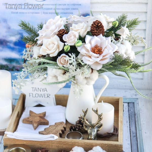 скидки, распродажа, новый год, 8 марта, скидка 50%, скидка 30%, скидки на готовые работы, цветы, флористика, цветы ручной работы, цветы из полимерной глины, tanya flower, холодный фарфор