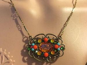 Аукцион на 3 Лота-ожерелья: старт 18 декабря-финиш 19 декабря в 21.30 по МСК!. Ярмарка Мастеров - ручная работа, handmade.