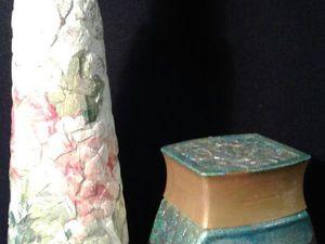 Декупаж. Декорирование яичной скорлупой. | Ярмарка Мастеров - ручная работа, handmade