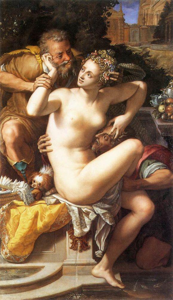 Легенда о Сусанне. Взгляд Рембрандта, фото № 5