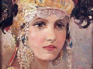 Путешествие к нашим истокам. Женский головной убор «сорока». Ярмарка Мастеров - ручная работа, handmade.