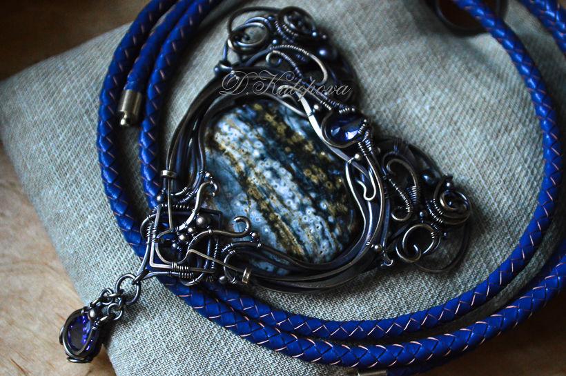 накутепила, натуральный камень, синий