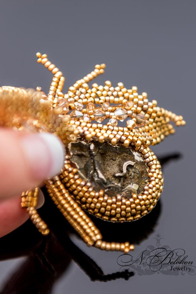 золото, жеода симбирцита