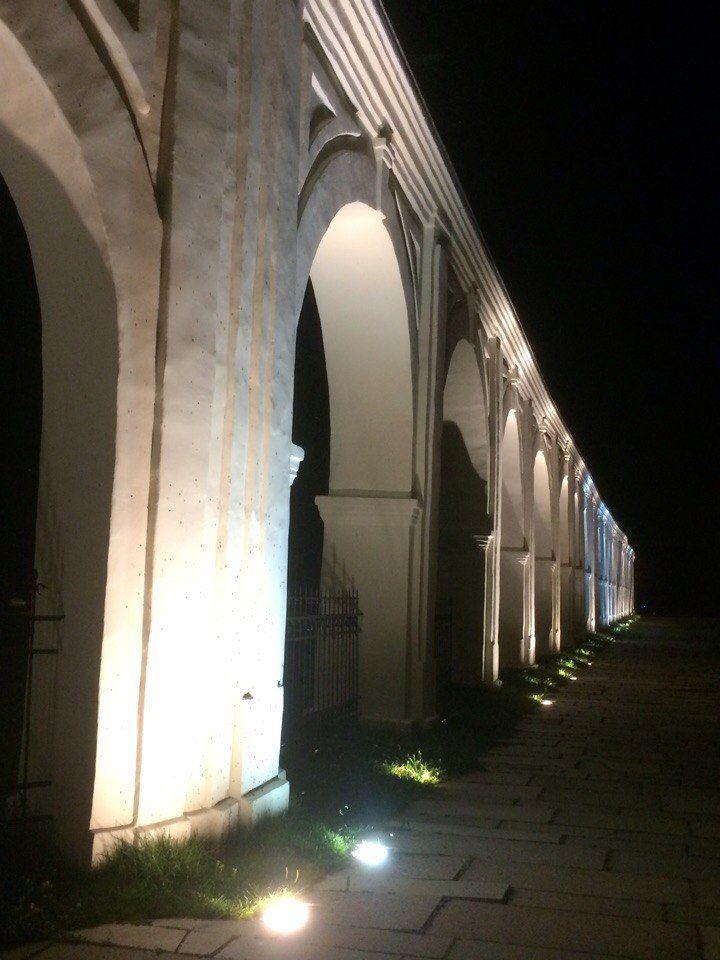 ночная прогулка, любимый город
