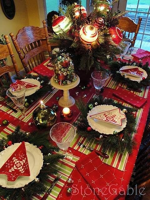 I want this for my Christmas dining table!