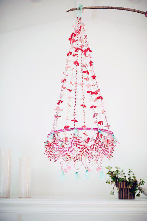 польский люстра на день Святого Валентина
