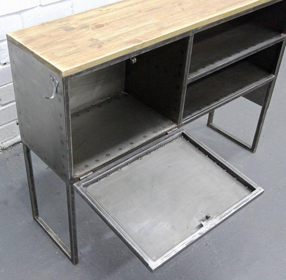 индустриальный, дизайн мебели