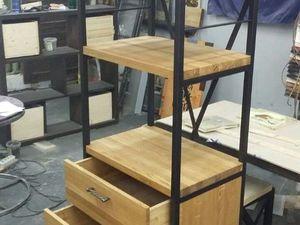 Новая модель стеллажа в стиле лофт. Ярмарка Мастеров - ручная работа, handmade.