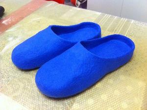 Шлепанцы с гарбо пяткой: 3 вида шерсти и 4 варианта использования | Ярмарка Мастеров - ручная работа, handmade