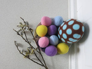 How to Sew Easter Eggs of Fleece. Livemaster - handmade