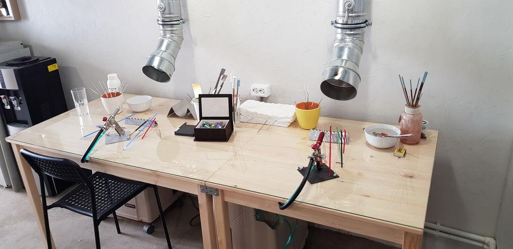 аренда рабочего места, обучение lampwork, мастерская лэмпворк, мастер-класс, стекло для лэмпворк, лэмпворк москва