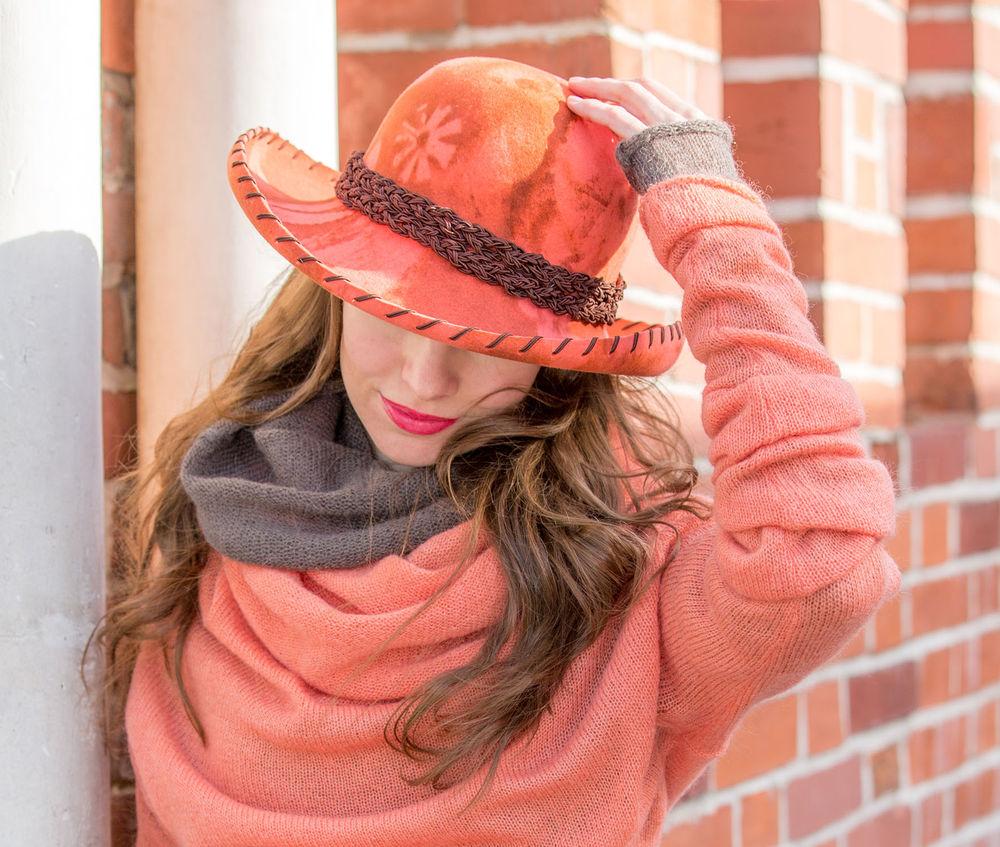 евгения лисицына, как сделать шляпу