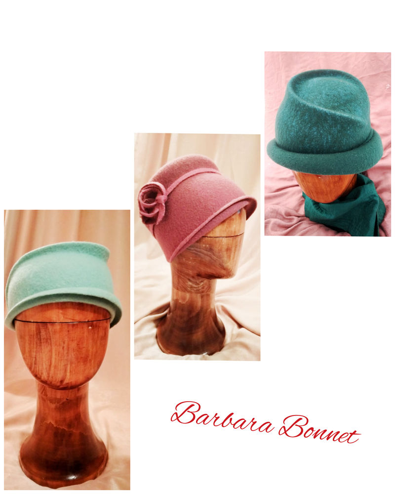 новости, валяние, фото, легкость, barbara bonnet, мятная шляпка