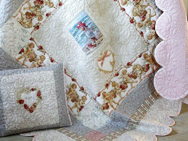 Мастер-класс по пошиву детского одеяла с вышивкой. Часть 2 | Ярмарка Мастеров - ручная работа, handmade