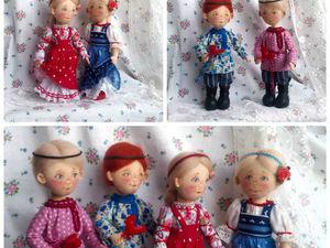Мои куклы, продолжение темы.. Ярмарка Мастеров - ручная работа, handmade.