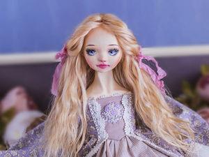Зои авторская кукла, интерьерная коллекционная кукла, подарок. Ярмарка Мастеров - ручная работа, handmade.