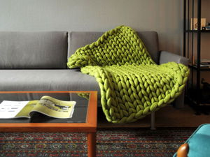 The Ingenious Is Always Simple, or What to Crochet out of Giant Yarn. Livemaster - handmade