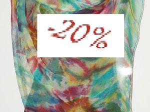 БАТИК!!! Распродажа изделий из натурального шелка!!! Скидка от 10% до  20%!!! | Ярмарка Мастеров - ручная работа, handmade