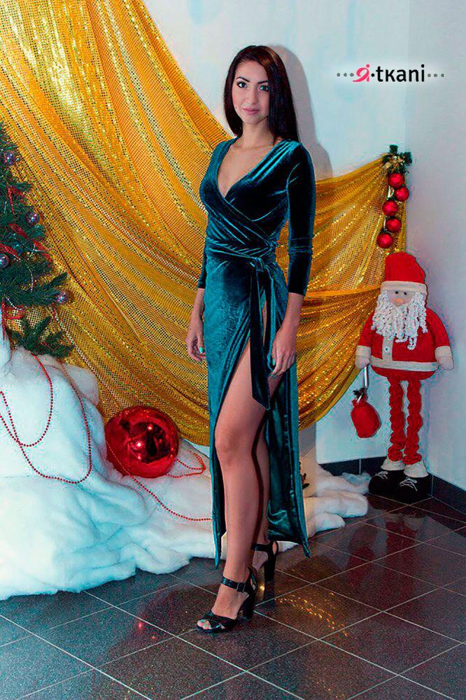 36cb9112fad Королевская особа. Шьем эффектное бархатное платье – Ярмарка Мастеров