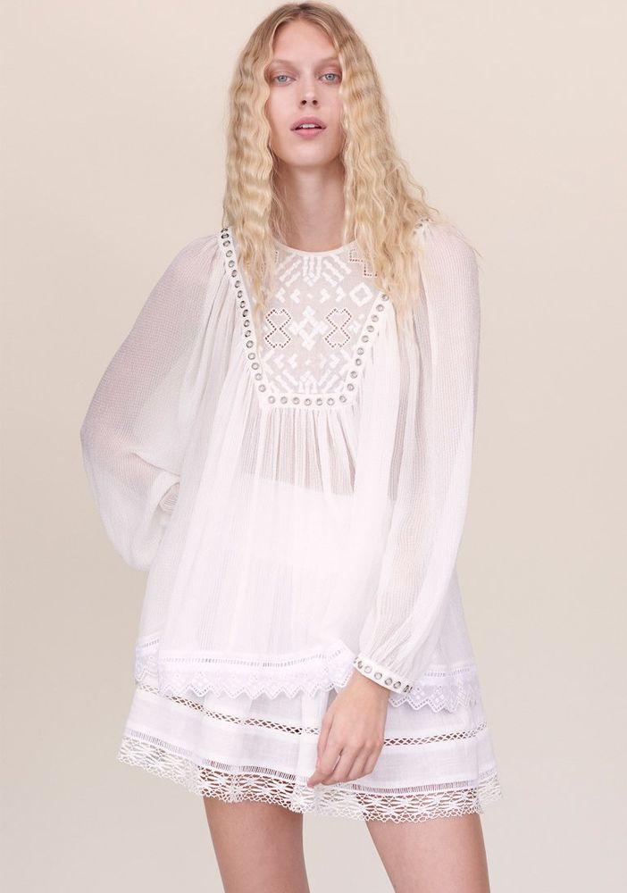 Белое бохо, или Шикарная одежда для королевы летнего пляжа, фото № 123