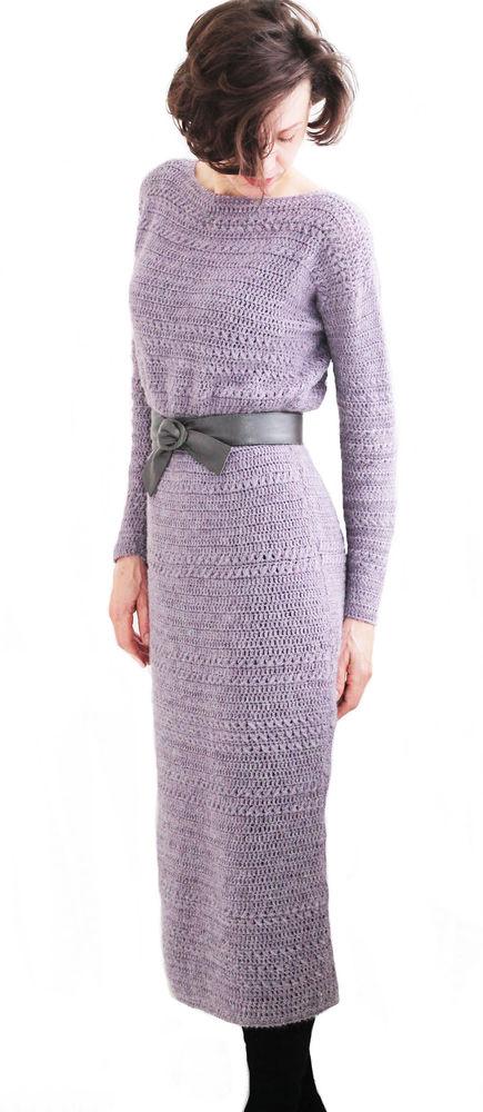 вязаное платье, женское платье, подарок девушке