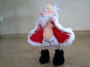 Забавный дедушка Мороз!   Ярмарка Мастеров - ручная работа, handmade
